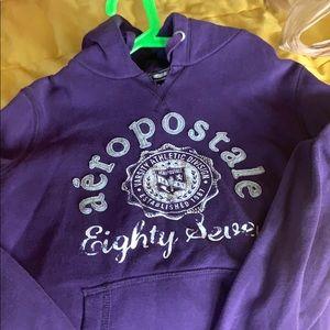 Ladies large Aeropostale hoodie sweatshirt
